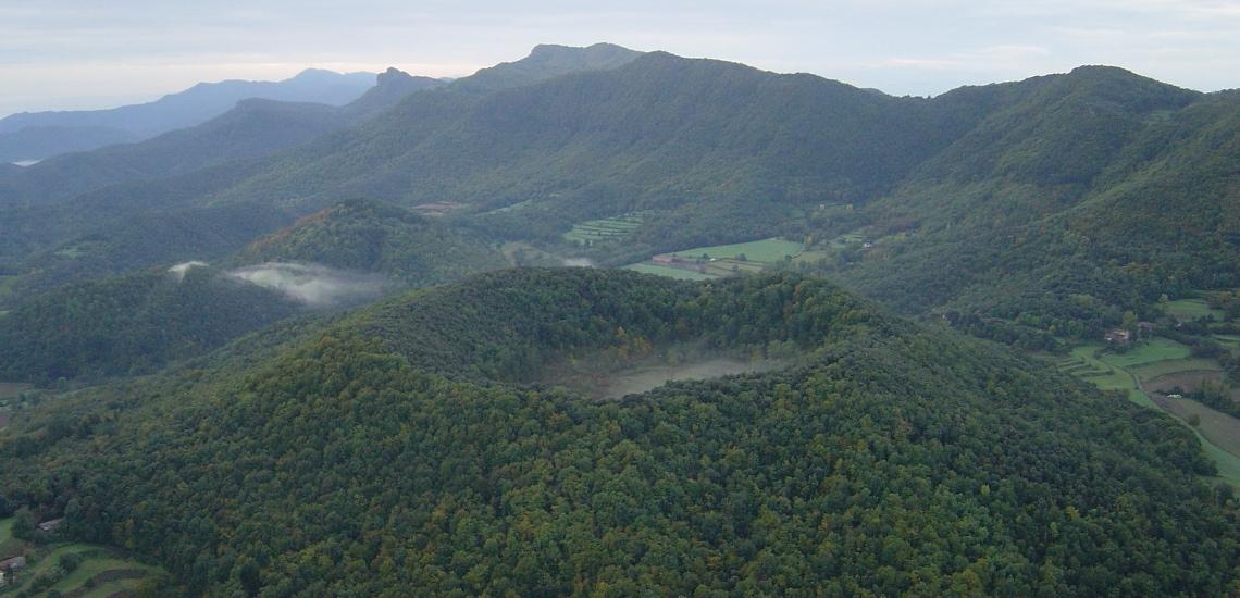 Zona volcànica: Volcà Santa Margarida