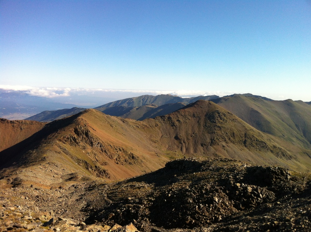 Vista des del Puigmal