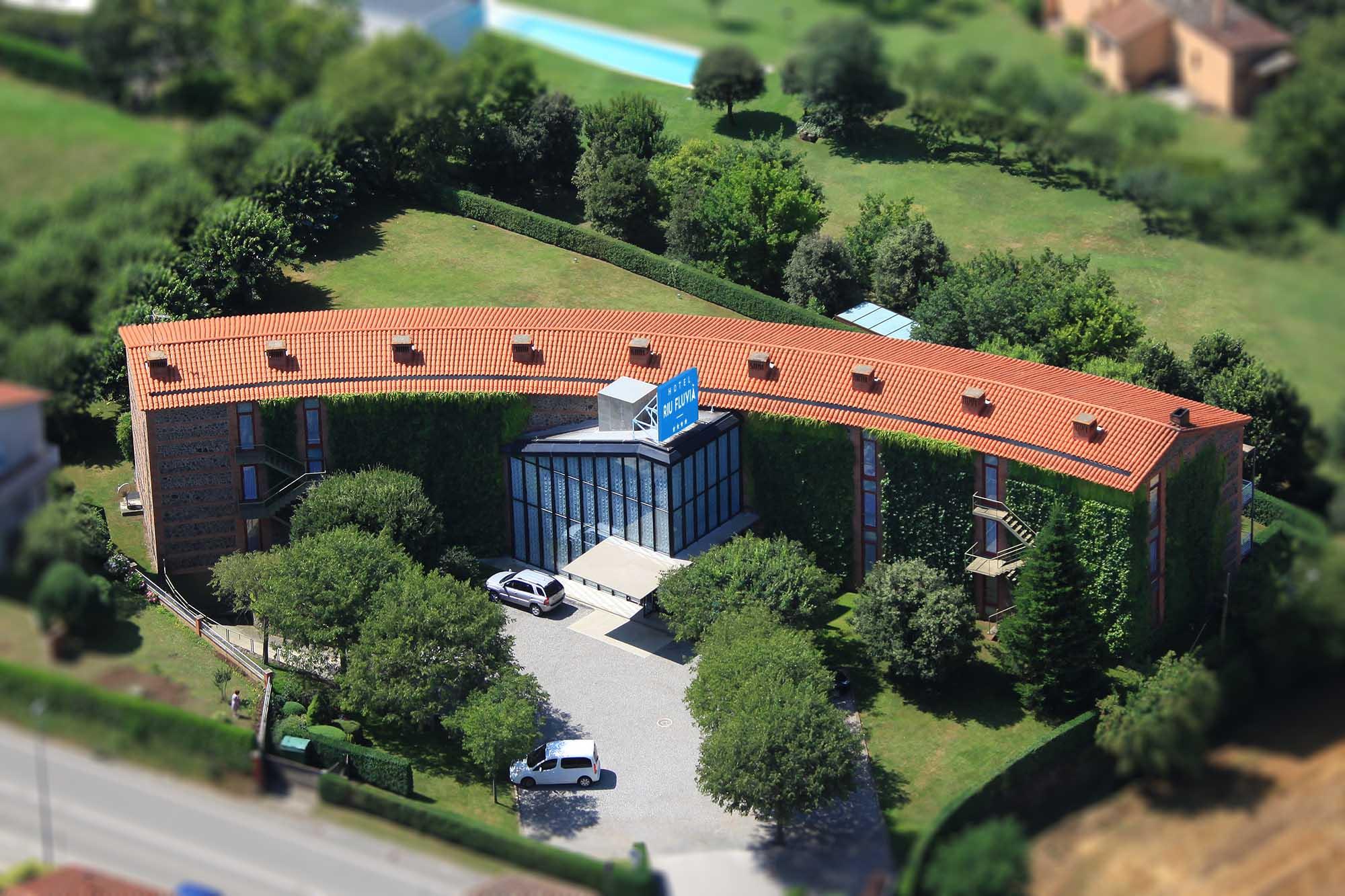 Hotel Riu Fluvià, vista aèria